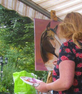 peintre tableau cheval