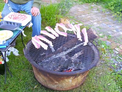 barbecue auge à cochons