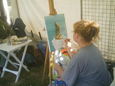 Peinture Petite Sirène