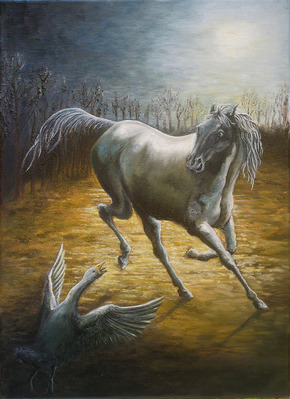 cheval_oie_nuit