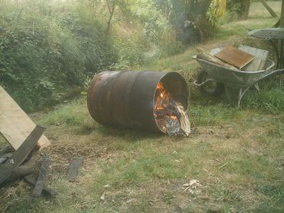 drôle de barbecue