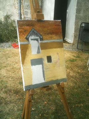 facade maison peinture