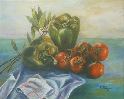 poivrons tomates laurier