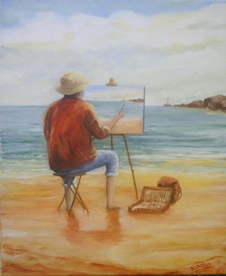 Peintre qui peint le peintre